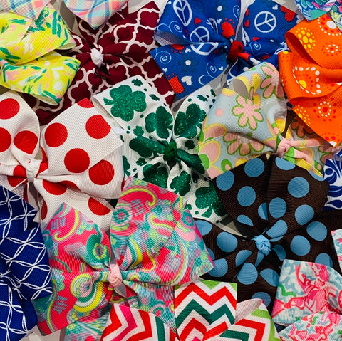 Extra Large Pinwheel Bow Grab Bag
