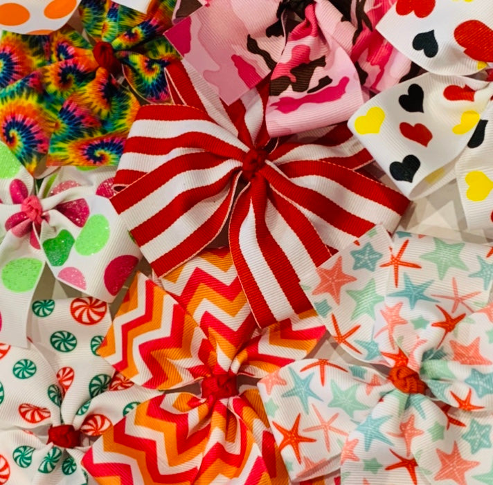 Medium Pinwheel Bow Grab Bag