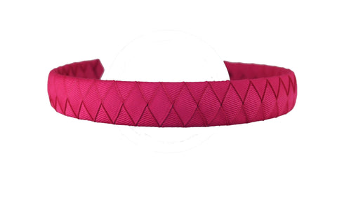 Solid Woven Headband - 33 Colors