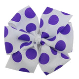 Jumbo Dots Bow - 6 Colors 2 Sizes