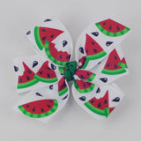 Watermelon Hair Bow - multiple sizes