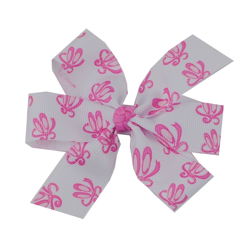 "Ballerina Hair Bow - Large 4"" Pinwheel Bow"