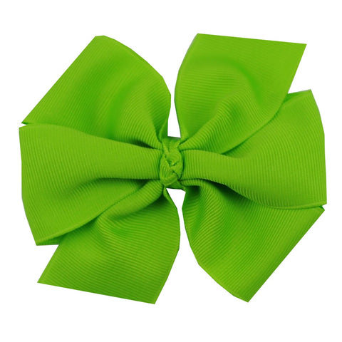 Large Lypple Green Hair Bow