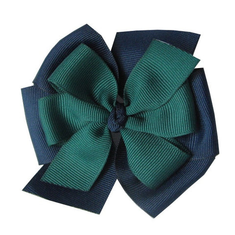 Solid Color Large Layered Pinwheel Bows - Choose Your Colors - Wholesale - Fundraising