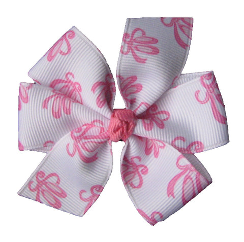 "Ballerina Hair Bow - Medium 3"" Pinwheel Bow"