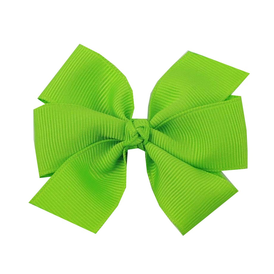 Medium Lypple Green Hair Bow