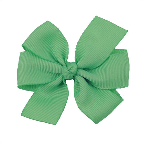 "Solid 3"" Pinwheel Bow with Straight Tails - Choose Your Color"