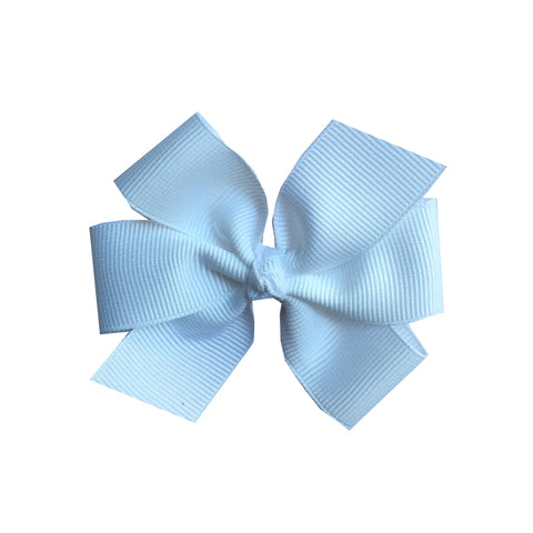 Medium White Hair Bow