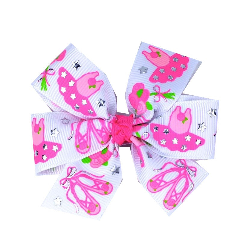 Ballet Dancer Hair Bow - multiple sizes
