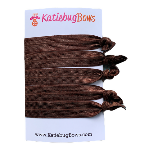 Brown Hair Ties
