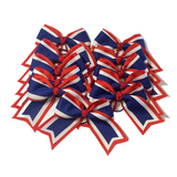 Red, White, and Blue Team Bow