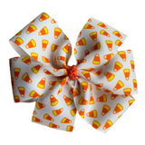 "Extra Large 5"" Pinwheel Bow Gift Set - Fall"