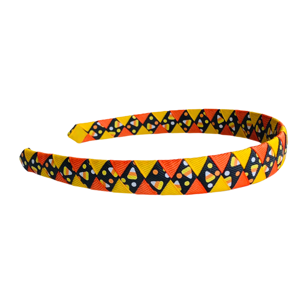 Black Candy Corn Headband