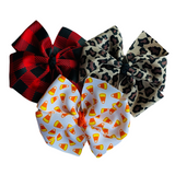 "Large 4"" Pinwheel Bow Gift Set - Fall"