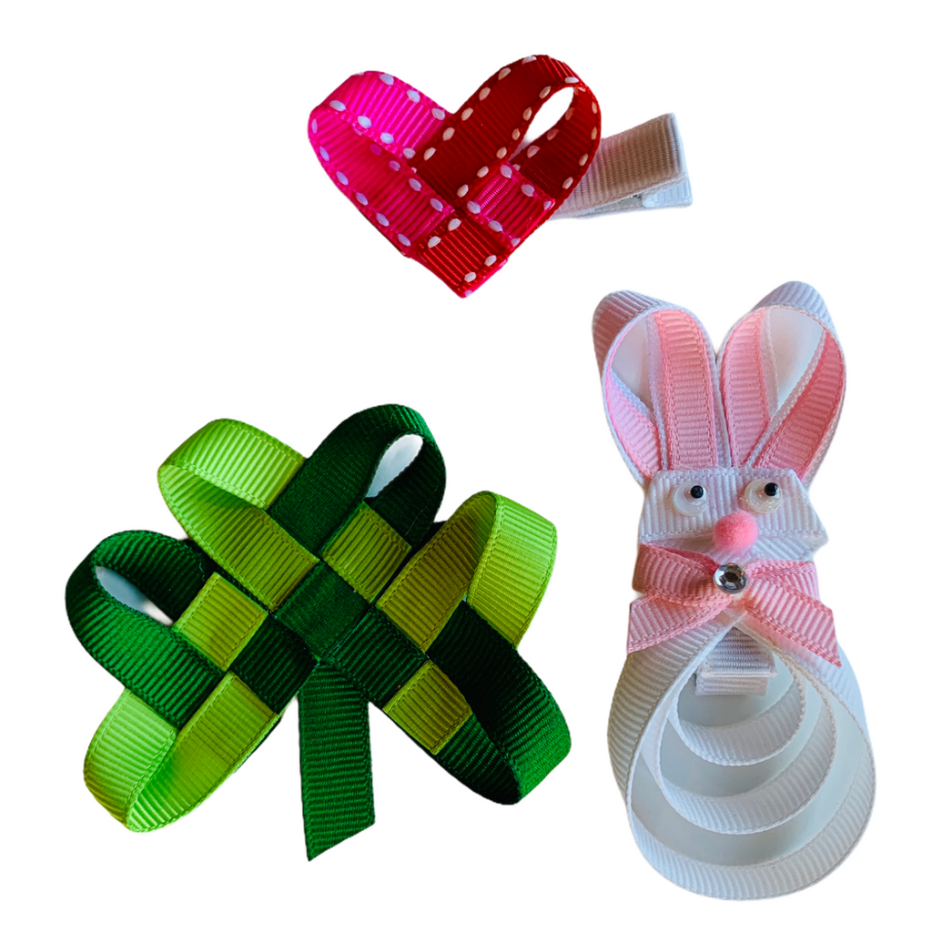 Spring Holiday Ribbon Sculpture Gift Set