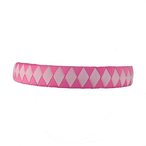 Pinkalicious - Hot Pink and Light Pink Woven Headband