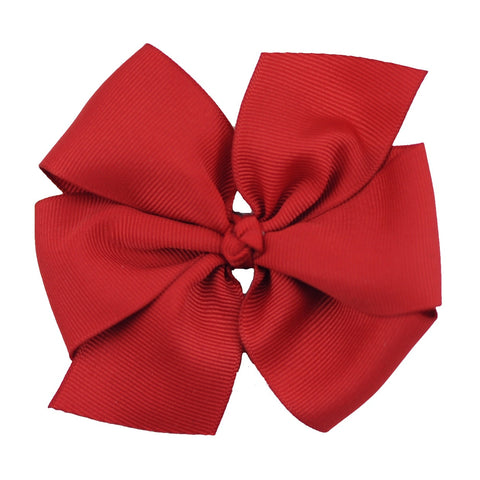 "Solid 4"" Pinwheel Bow - 35 Colors"