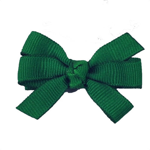 "Solid 2"" Pinwheel Bow - 35 Colors Choices"