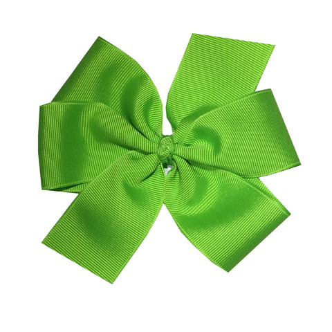 Extra Large Lypple Green Hair Bow