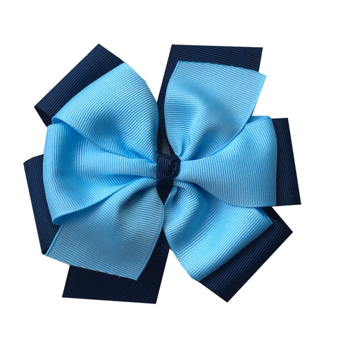 Solid Color Extra Large Layered Pinwheel Bows - Choose Your Colors - Wholesale - Fundraising