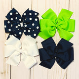 Extra Large Sized Hair Bows - NHA Schools