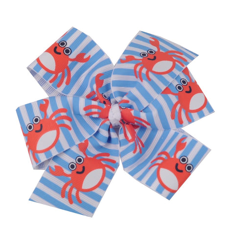 Crab Hair Bow