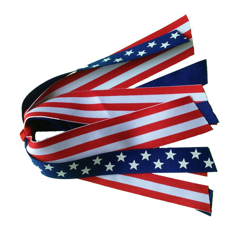 Stars and Stripes Ponytail Streamer