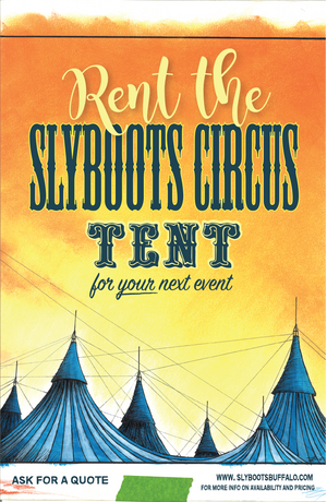 Slyboots Circus Tent Rental