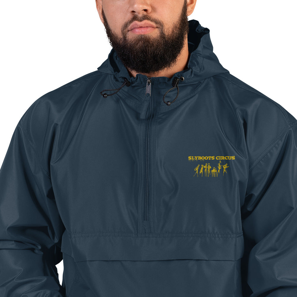 Embroidered Champion Packable Jacket Design C