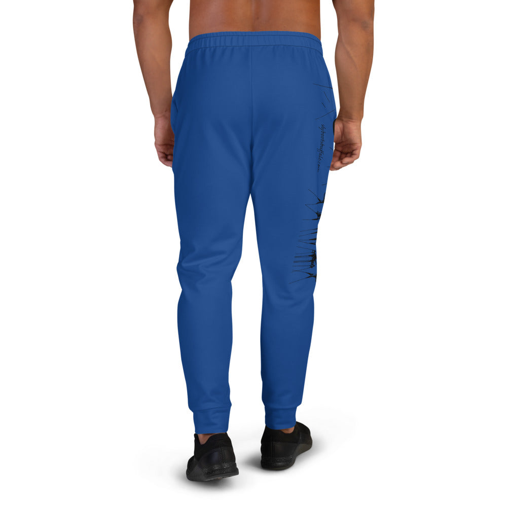 Sweatpants Blue Design C