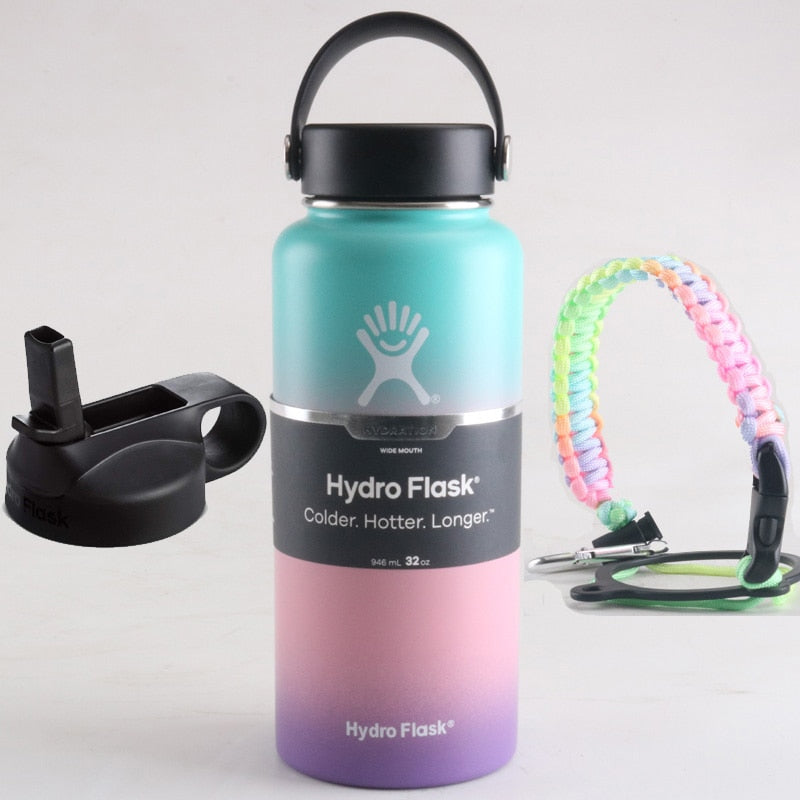 Hydro Flask with Flex Cap And Straw Lid 40 oz (Fast Shipping to USA)