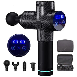 LCD Display Massage Gun For Muscle Pain and Relaxation