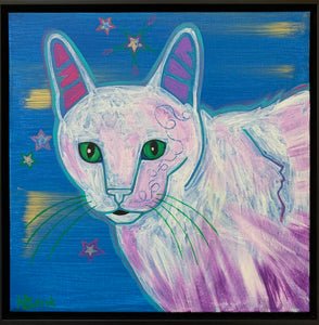 """Alabaster Kitty"""