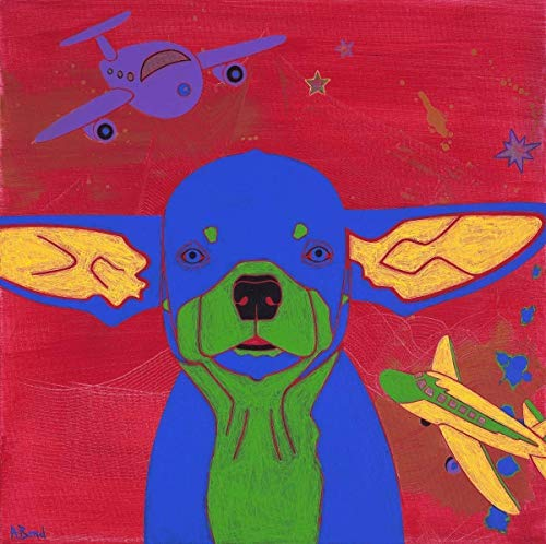 Chihuahua Print - Ready for Takeoff - Dog Pop Art by Angela Bond