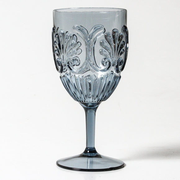 Flemington Wine Glass - Blue