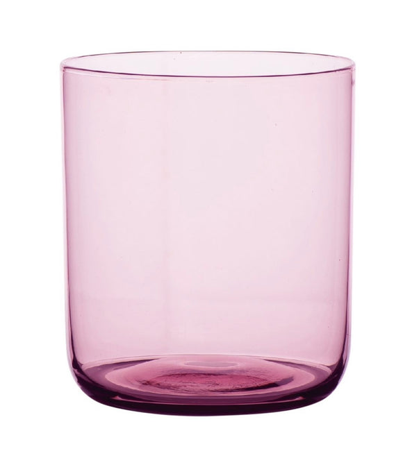 Glass Tumblers set of 4- Plum