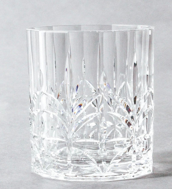 Scalloped Acrylic Tumbler - Clear