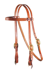 Professional's Choice Browband Headstall - Bronze