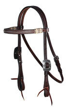 Load image into Gallery viewer, Professional's Choice Browband Headstall - Dots