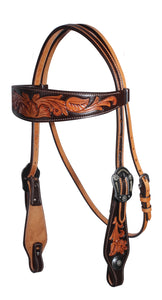 Professional's Choice Browband Headstall - Floral