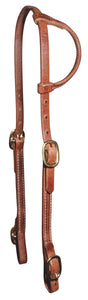 Professional's Choice Single Ear Headstall - Double Adjust
