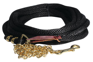 Professional's Choice Poly Rope Lunge Line with Chain