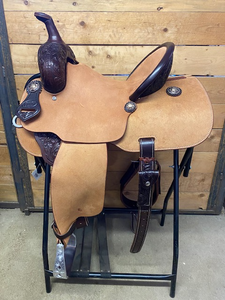 "Leanin' Pole 13.75"" Barrel Saddle #TL70220260"