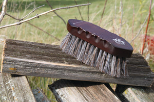 Professional's Choice Wood Series Small Horse Hair Brush