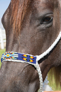Professional's Choice Cowboy Braided Halter with 10' Lead