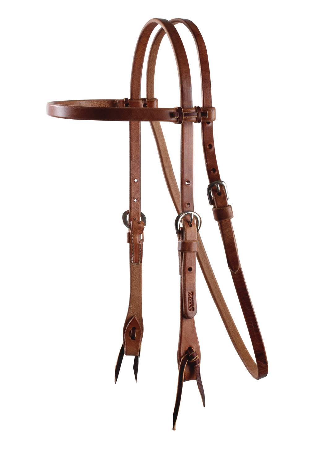 Professional's Choice Browband Headstall - Tie Ends