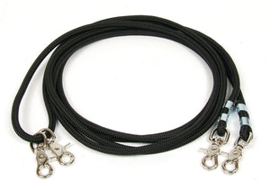 Professional's Choice Draw Cord Reins - Black
