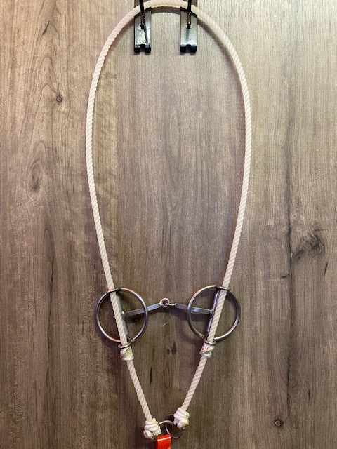 L&W Rope Full Ring Draw Gag Bit