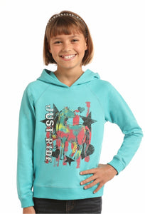 Just Ride Hooded Sweatshirt