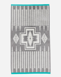 Pendleton Harding Grey Spa Towel